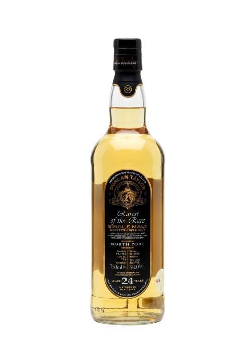 Single Malt Scotch Whisky Rarest of the Rare Duncan Taylor 24 years  North Port – 700mL
