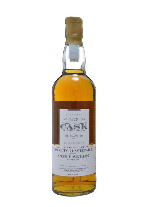 Single Malt Scotch Whisky Cask Stregth Port Ellen Gordon & Mac Phail 1979 – 700mL