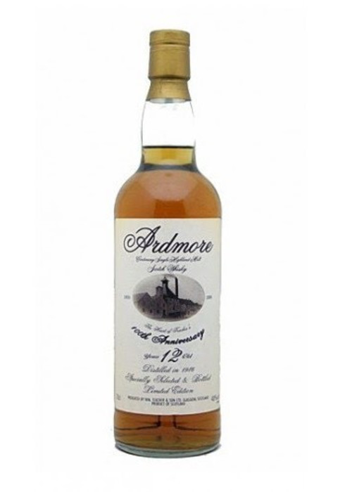 Single Malt Scotch Whisky 12 years 100th Anniversary  Ardmore – 700mL