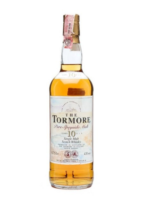 Single Malt Scotch Whisky The Tormore 10 years  Tormore – 700mL