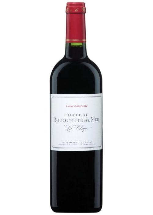 La Clape Cuvée Amarante Château Rouquette sur Mer 2015 – 750mL