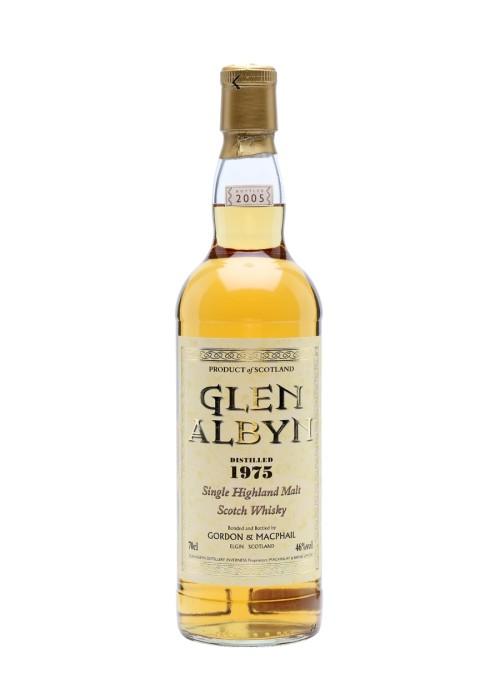Highland Single Malt Sccotch Whisky Glen Albyn Gordon & Mac Phail 1975 – 700mL