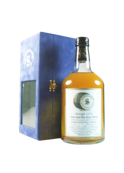 Islay Single Malt Scotch Whisky Signatory Vintage 23 years Port Ellen 1978 – 700mL