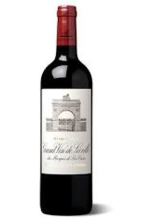 Saint-Julien Grand cru classé Grand Vin de Léoville du Marquis de Las Cases Château Léoville Las Cases 2002 – 750mL