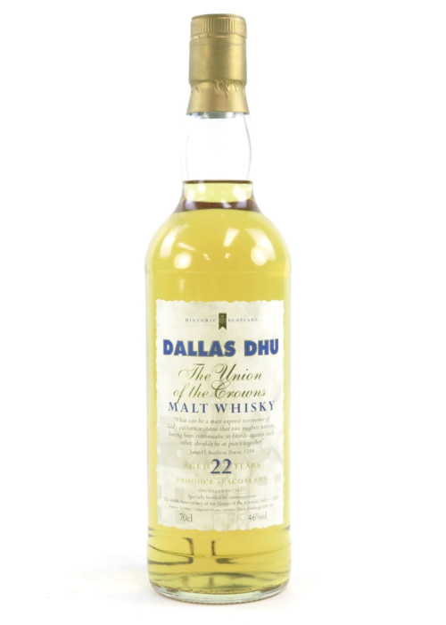 Malt Whisky The Union of the Crowns 22 years Dallas Dhu – 700mL