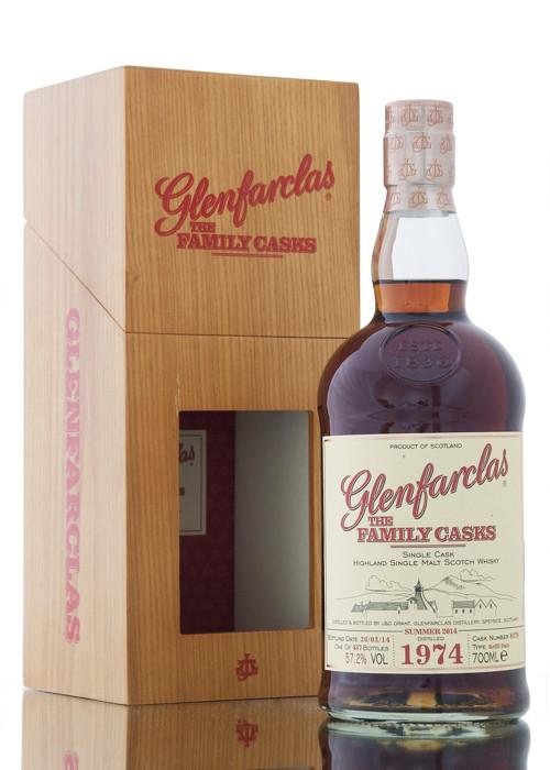 Highland Single Malt Scotch Whisky  Glenfarclas 1974 – 700mL