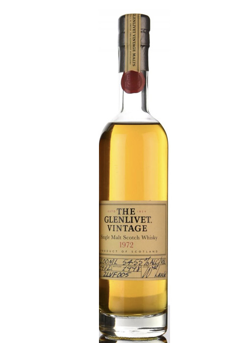 Single Malt Scotch Whisky Vintage The Glenlivet 1972 – 200mL