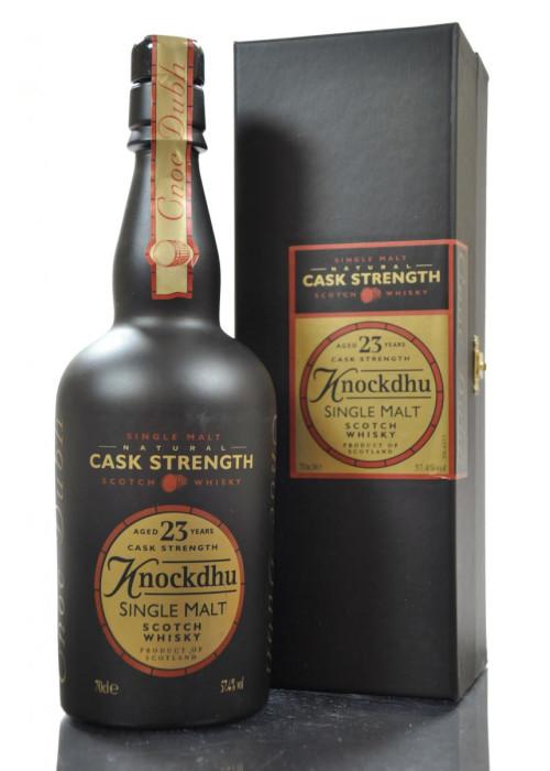 Single Malt Scotch Whisky Cask Stregth 23 years  Knockdhu