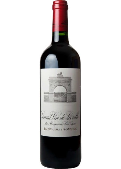 Saint-Julien Grand cru classé Grand Vin de Léoville du Marquis de Las Cases Château Léoville Las Cases 2004 – 750mL