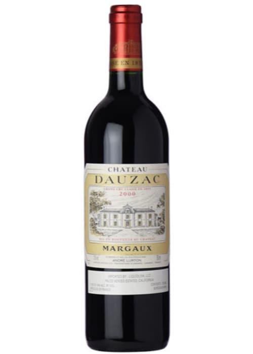 Margaux Grand cru classé Château Dauzac 2000 – 750mL