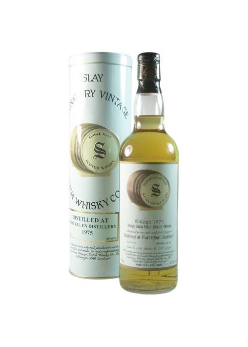 Highland Single Malt Scotch Whisky Signatory Vintage 21 years  Glentauchers 1975 – 700mL