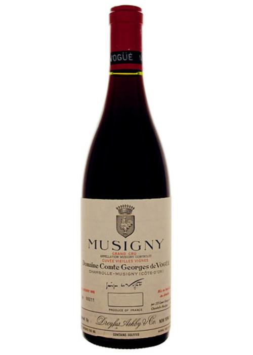 Musigny Grand cru Cuvée Vieilles Vignes Domaine Comte Georges de Vogüé 1996 – 750mL