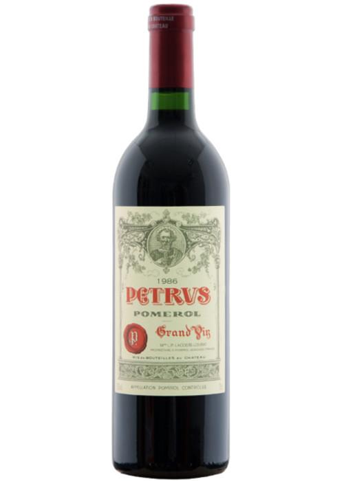Pomerol Pétrus 1986 – 750mL