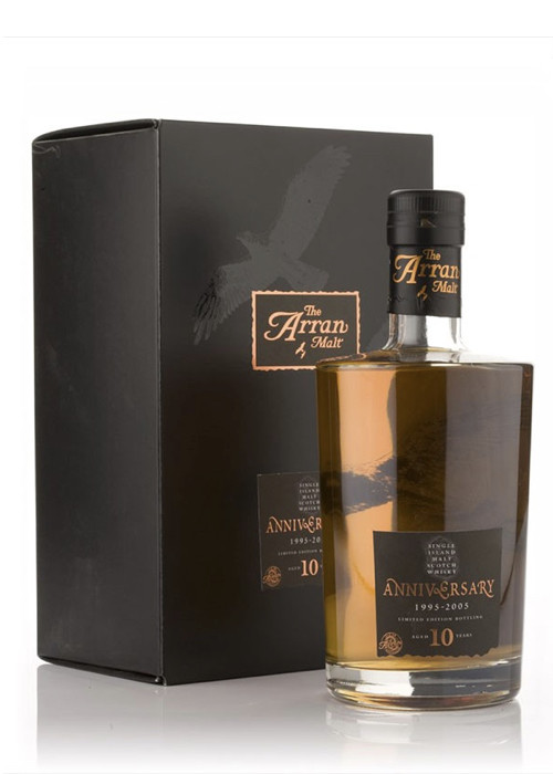 Island Single Malt Scotch Whisky Anniversary 10 years The Arran Malt – 700mL