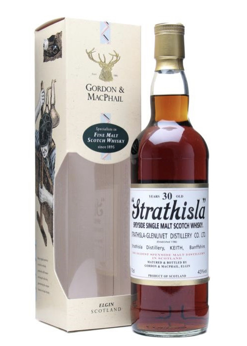 Highland Single Malt Scotch Whisky Strathisla 30 years Strathisla-Glenlivet – 700mL
