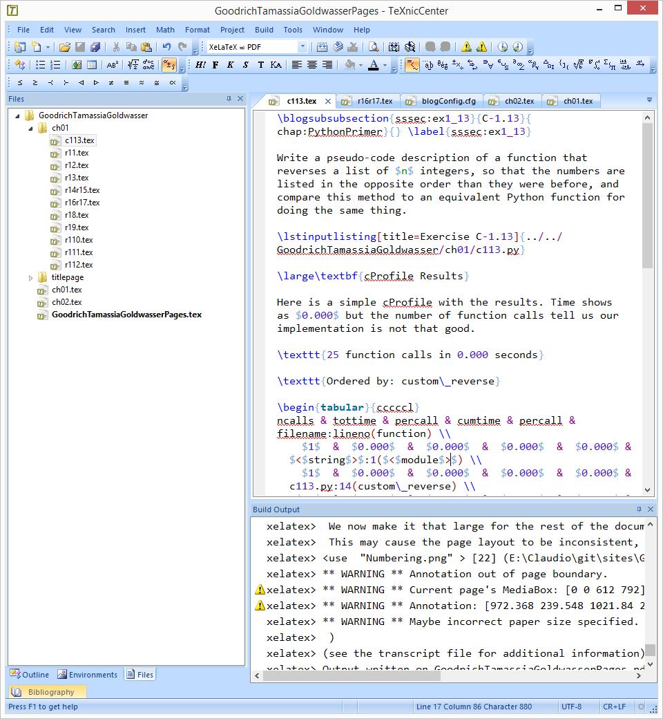 Using LaTeX to Document studies Part 2