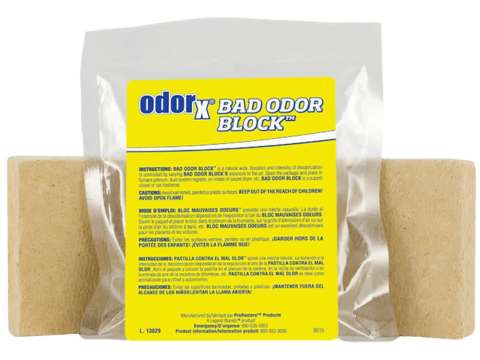 BAD ODOR BLOCK - Αποσμητικό χώρων μετά τον καθαρισμό από φωτιά
