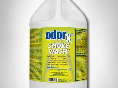 SMOKE WASH - Προϊόν αποκατάστασης και απόσμησης από φωτιά για υφασμάτινες επιφάνειες