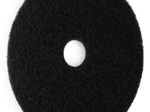 Μαύρος δίσκος δαπέδου - τσόχα