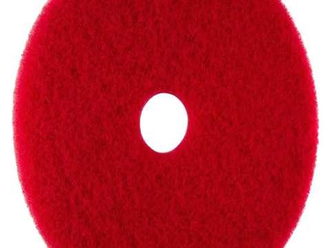 Κόκκινος δίσκος δαπέδου - τσόχα