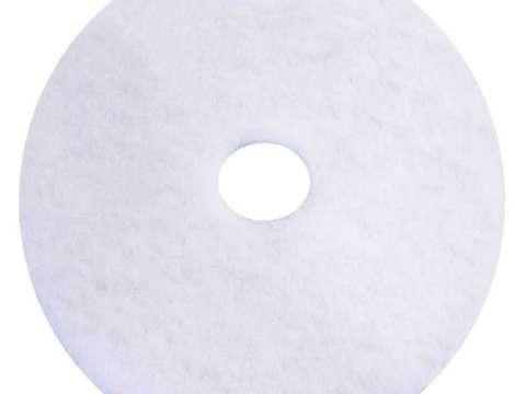 Λευκός δίσκος δαπέδου - τσόχα