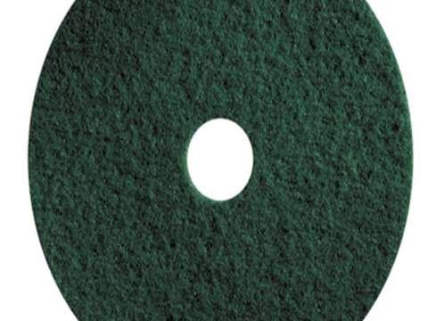 Πράσινος δίσκος δαπέδου - τσόχα