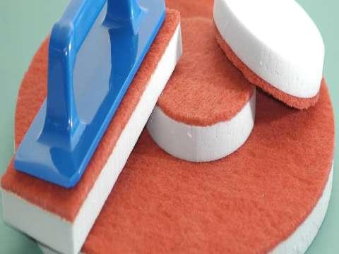 Δίσκος μελαμίνης καθαρισμού δαπέδων