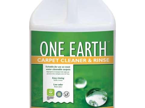 ONE EARTH CARPET CLEANER & RINSE - Οικολογικό προϊόν καθαρισμού και ξεβγάλματος υφασμάτινων επιφανειών