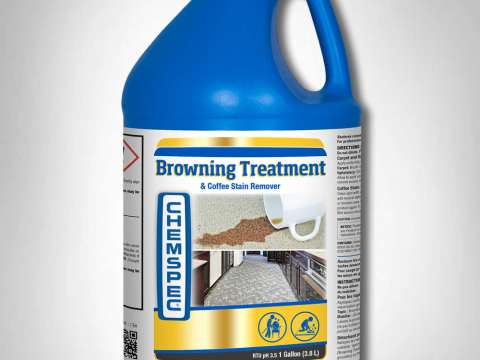 BROWNING TREATMENT & COFFEE STAIN REMOVER - Ξελεκιαστικό νερολεκέδων, κιτρινίλας, καφέ
