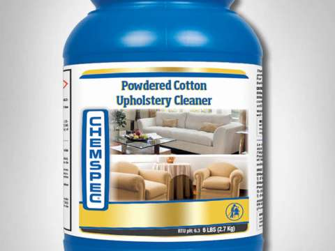 POWDERED COTTON UPHOLSTERY CLEANER - Απορρυπαντικό χαμηλού αφρισμού (extraction) για βαμβακερά υφάσματα