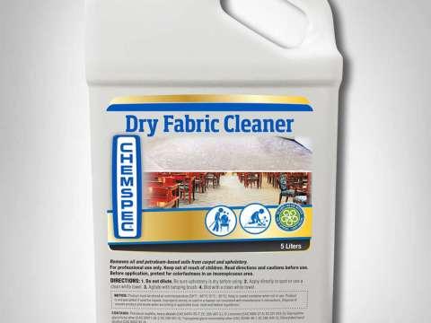 DRY FABRIC CLEANER - Απορρυπαντικό στεγνού καθαρισμού για σαλόνια, κουρτίνες και ταπετσαρίες
