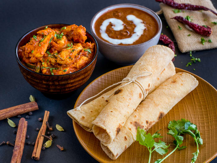 Chef's Special Chicken Thali