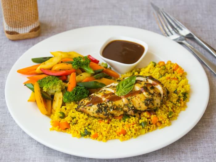 Zesty Gremolata Chicken with Foxtail Millet