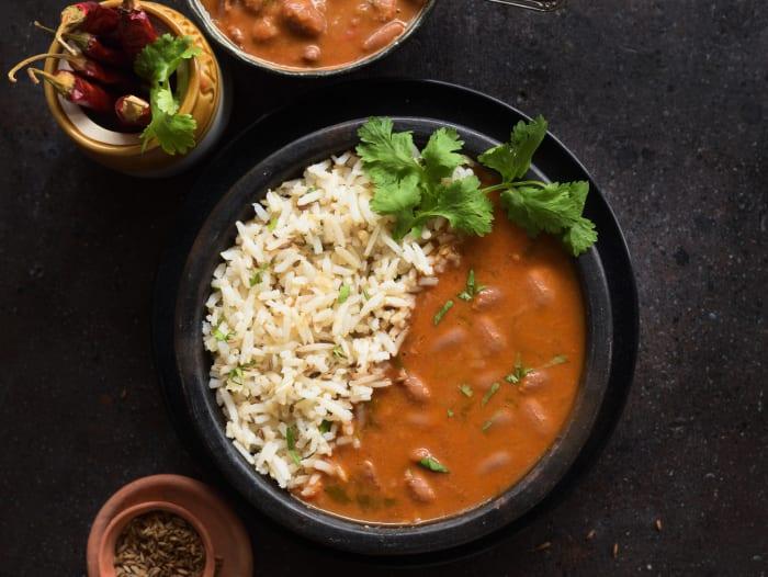 Ghar Ka Rajma & Jeera Brown Rice