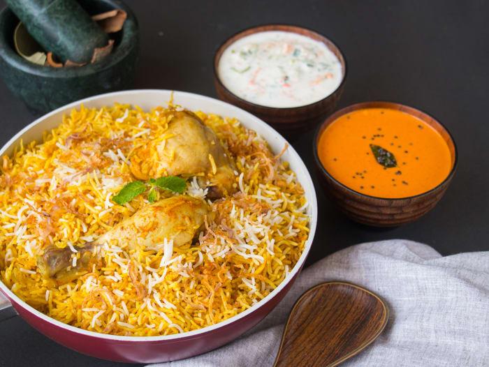 Pack of 2: Lucknowi Chicken Biryani