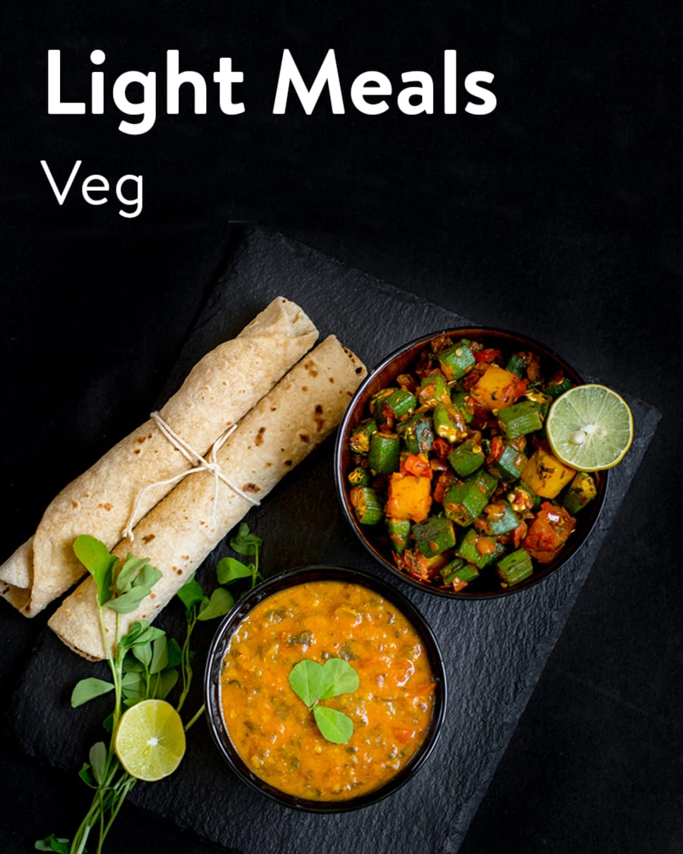 Light Meals Veg Homely Meals Subscription at Eat.fit