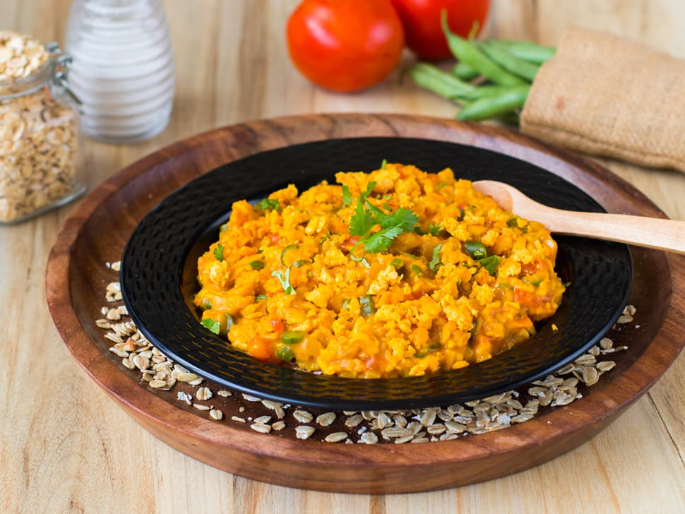 Chicken Keema Masala Oats