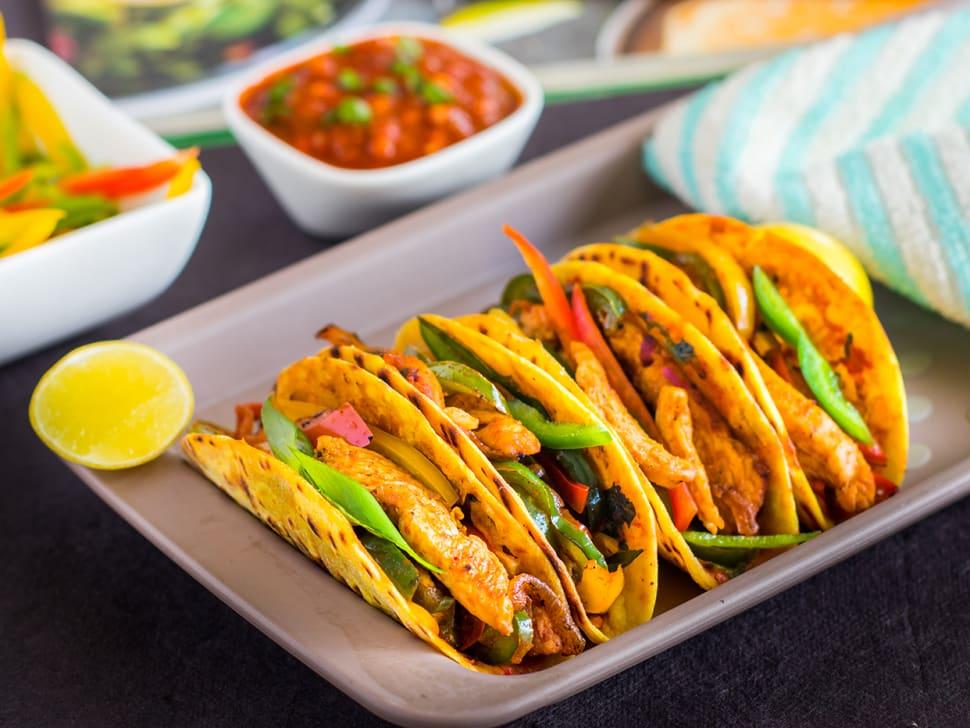 SoftShell Asian Chicken Tacos