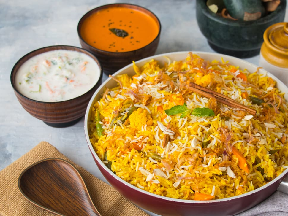 Pack of 2: Lucknowi Veg Biryani