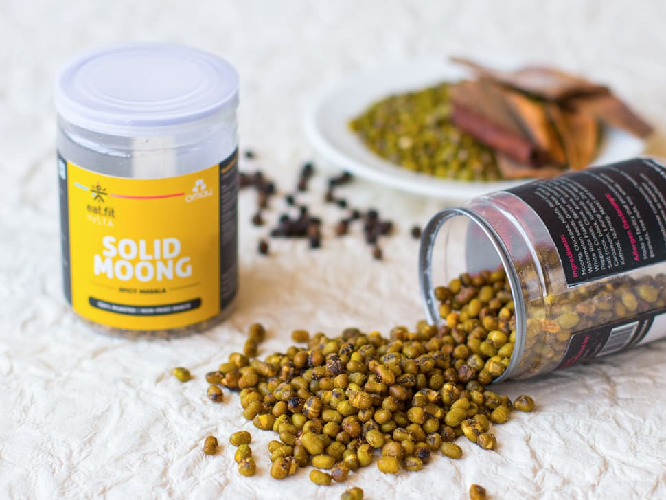 Solid Moong: Spicy Masala Mix (65g)