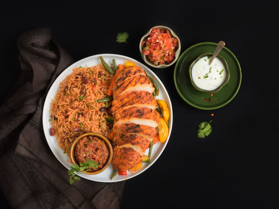 Smoky Chipotle Chicken & Tex-Mex Rice Bowl