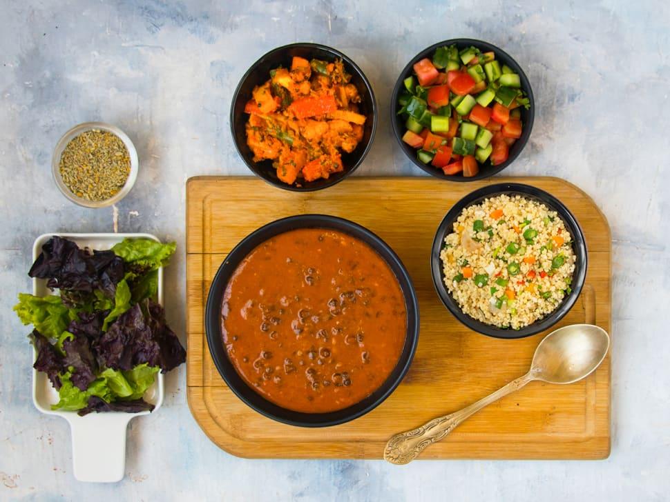 Weight Watch: Millet, Tawa Sabzi & Dal Makhni Meal