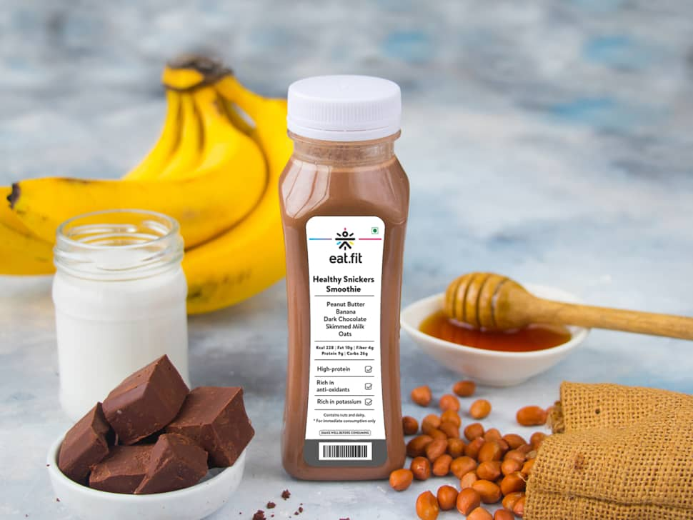 Healthy Snickers Smoothie (200ml)
