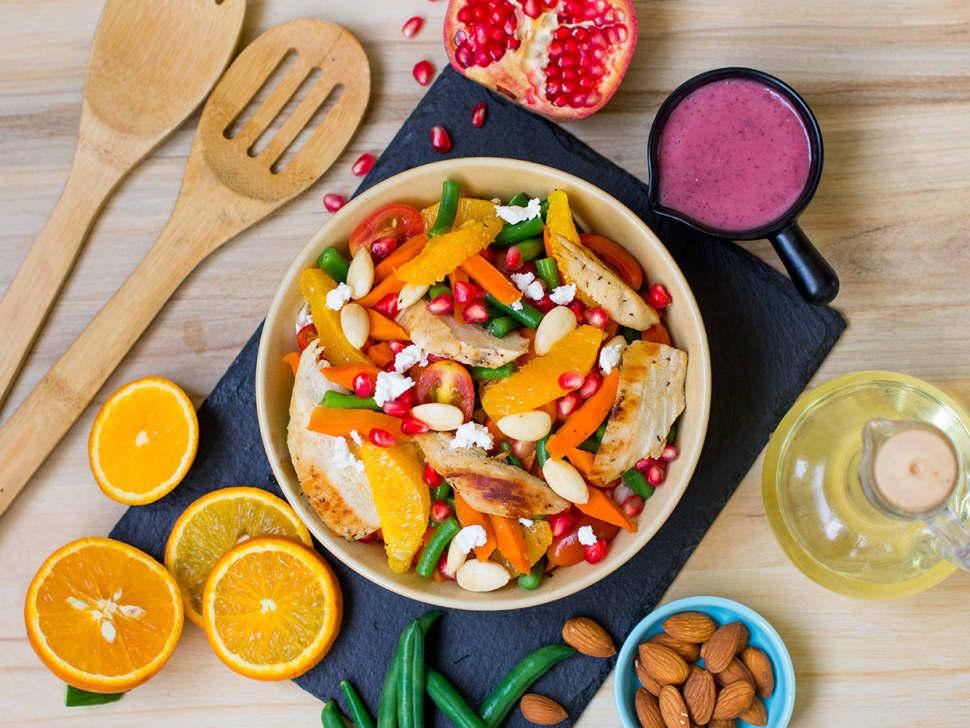Weight Watch: Zesty Citrus Chicken Salad