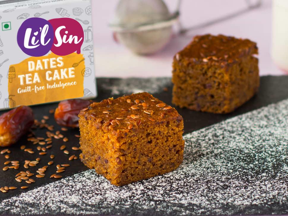 Li'l Sin: Dates Tea Cake