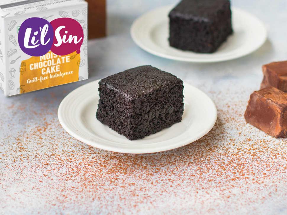 Li'l Sin: Moist Chocolate Cake