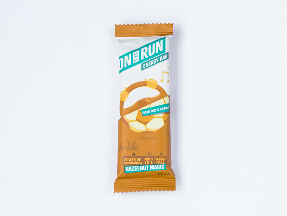 On the Run Energy Bar: Hazelnut Magic