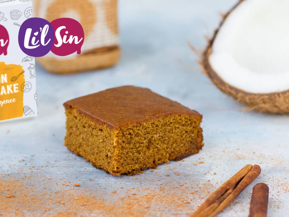 Li'l Sin: Cinnamon Coconut Cake