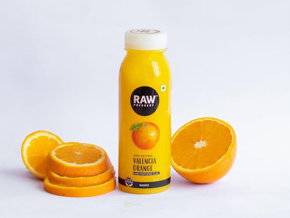 RAW Pressery: Valencia Orange (250ml)