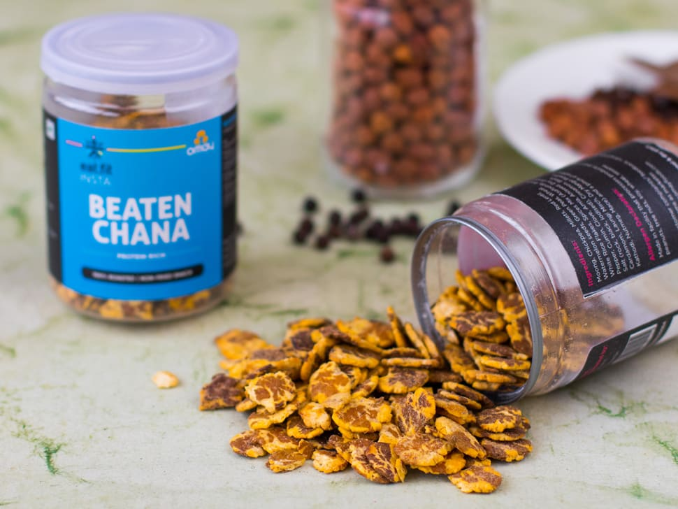 Beaten Chana: Protein-Rich Mix (60g)